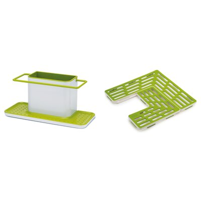 Caddy and Sink Saver Set Color: Green
