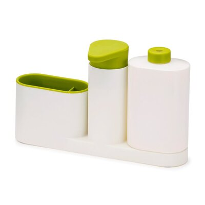 3 Piece Sink Base Plus Set Finish: White / Green