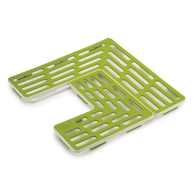2-Piece Sink Grids Finish: Green