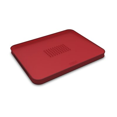 Large Cut And Carve Chopping Board In Red