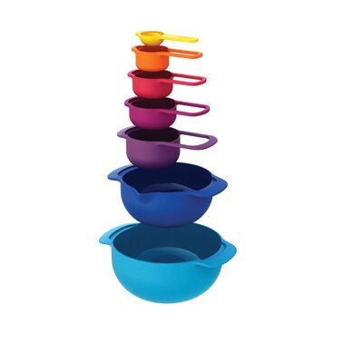 Joseph Joseph Nest 7 Piece Plus Mixing Bowl 40033