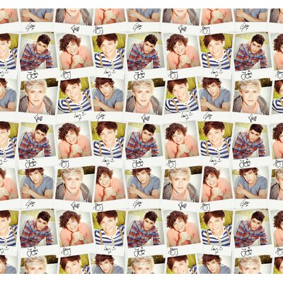 Furniture-WallPops! One Direction Collage Wall Mural