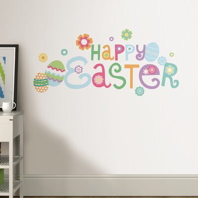Happy Easter Wall Decal DWPQ2406