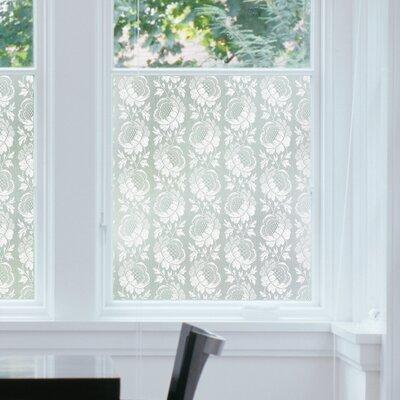 WallPops! DC Fix Crochet Floral Window Film T346-0599