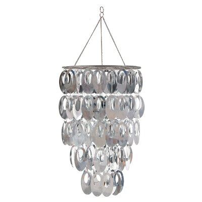 Alisha Posh Room 1-Light Crystal Pendant