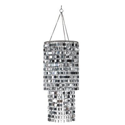 Allen Icicles Room 1-Light Crystal Pendant