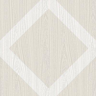 Illusion Peel & Stick 12 x 12 Vinyl Tile in Beige