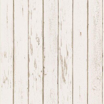 Northwoods Distressed Plank Wallpaper 145-62600