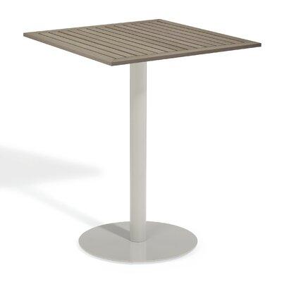 Travira Bar Table Finish: Tekwood Vintage, Table Size: 32 L x 32 W