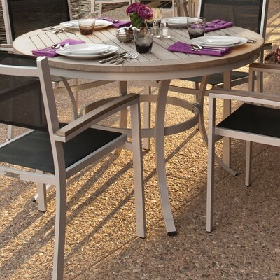 Farmington Round Bistro Table Finish: Vintage, Table Size: 36 L x 36 W