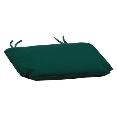 Outdoor Dining Chair Cushion Fabric: Dupione Walnut