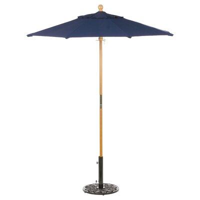 6 Oxford Market Umbrella Fabric: Navy