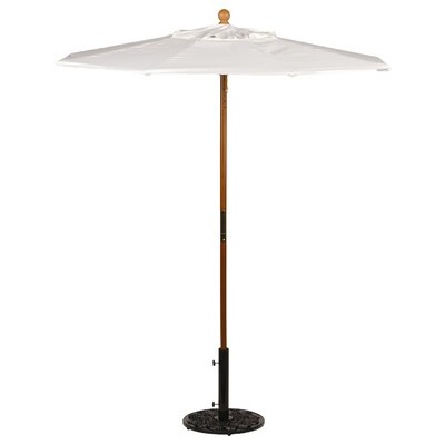 6 Oxford Market Umbrella Fabric: Sunbrella Natural