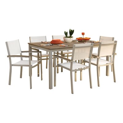 Dining Set Removable Plug Umbrella 1294