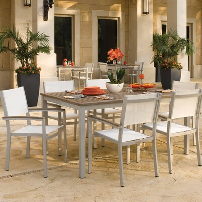 Travira Tekwood Dining Set - Product photo