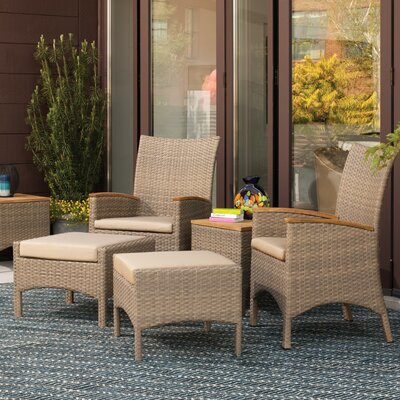 Ledyard 6 Piece Seating Group with Cushions