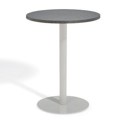 Farmington Alstone Graphite Bar Table Table Size: 36 L x 36 W