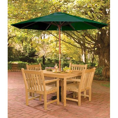Coraline Patio 5 Piece Dining Set