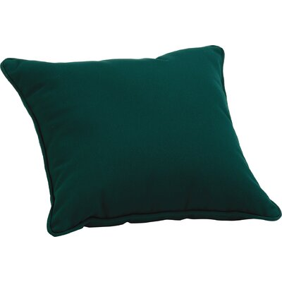 Sunbrella� /PolyThrow Pillow Color: Hunter