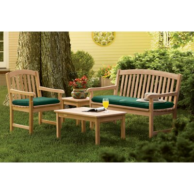 Dayana 4 Piece Conversation Set with Cushions