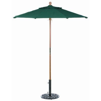 6 Oxford Market Umbrella Fabric: Sunbrella Hunter