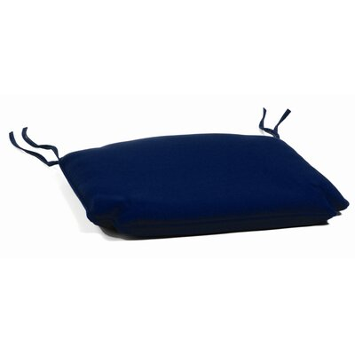 Jaelyn Outdoor Sunbrella Rocking Chair Cushion Fabric: Navy