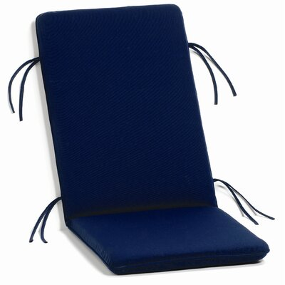 Everleigh Outdoor Chaise Lounge Cushion Fabric: Navy