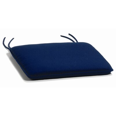 Sutton Outdoor Sunbrella Rocking Chair Cushion Fabric: Navy