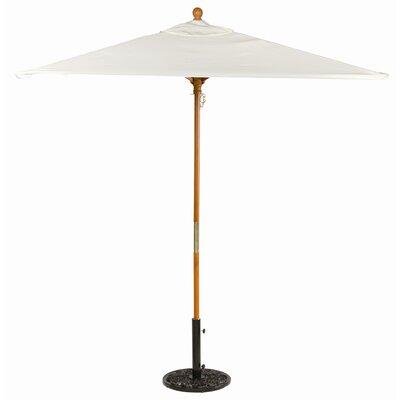 6 Oxford Square Market Umbrella Fabric: Natural