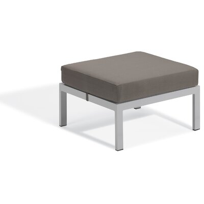 Farmington Ottoman with Cushion Fabric: Stone