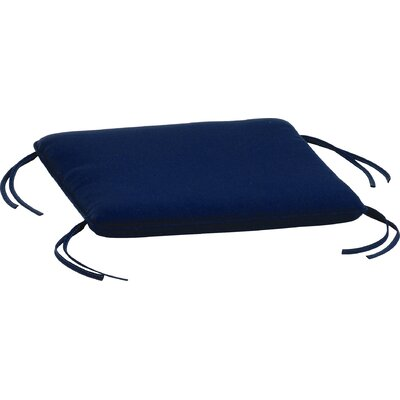 Siena Outdoor Ottoman Cushion Fabric: Navy