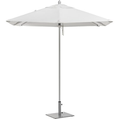 6.5 Oxford Market Umbrella Fabric: Natural