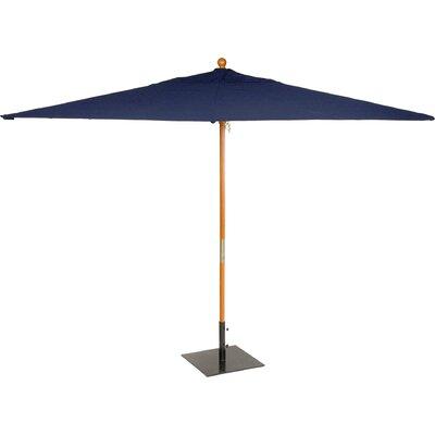 6 x 10 Oxford Rectangular Market Umbrella Fabric: Navy