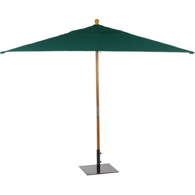 6 x 10 Oxford Rectangular Market Umbrella Fabric: Hunter