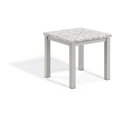 Travira End Table Table Top Color: Ash