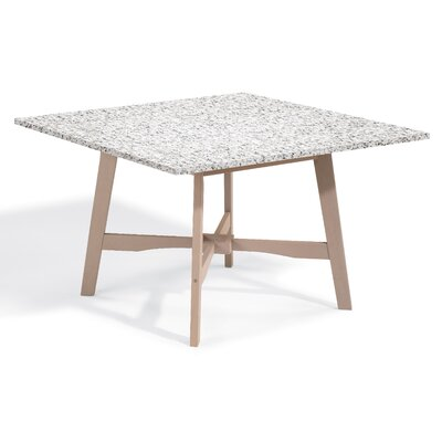 Laney Dining Table Base Finish: Natural, Top Finish: Charcoal