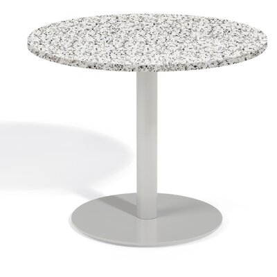 Travira Bistro Table Table Size: 24 L x 24 W, Finish: Alstone Graphite