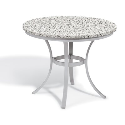 Farmington Round Bistro Table Table Size: 36 L x 36 W, Finish: Lite-Core Charcoal