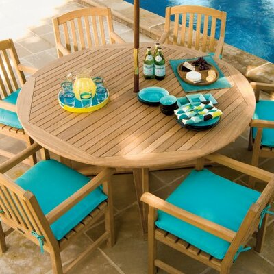 Round Dining Table Table Size: 67 L x 67 W