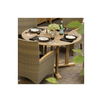 Round Dining Table Table Size: 47.25 L x 47.25 W