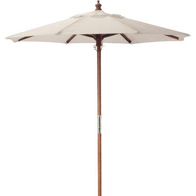 6 Market Umbrella Fabric: Natural