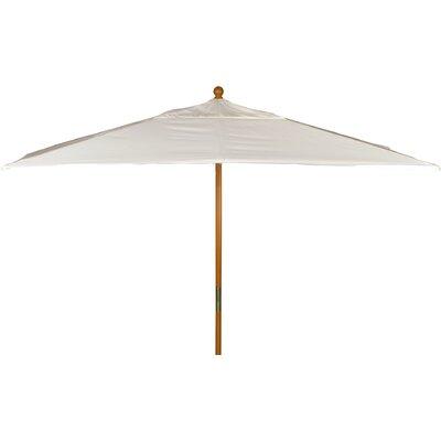 6 x 10 Jaliyah Rectangular Market Umbrella Fabric: Natural