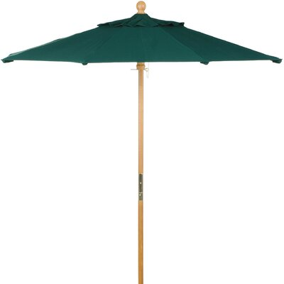 6 Market Umbrella Fabric: Sunbrella Dupione Walnut