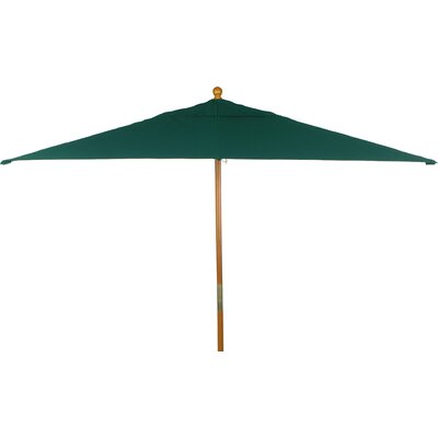 6 x 10 Jaliyah Rectangular Market Umbrella Fabric: Hunter
