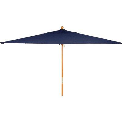 6 x 10 Jaliyah Rectangular Market Umbrella Fabric: Navy
