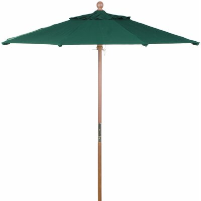 6 Market Umbrella Fabric: Sunbrella Hunter