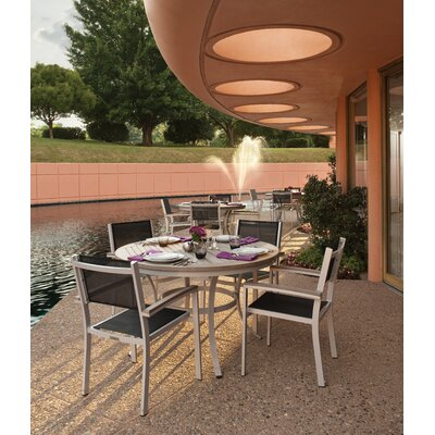 Farmington 5 Piece Aluminum Frame Conversation Set