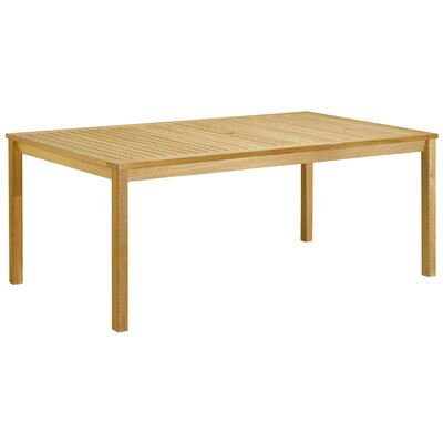 Hampton Dining Table Table Size: 76 x  40