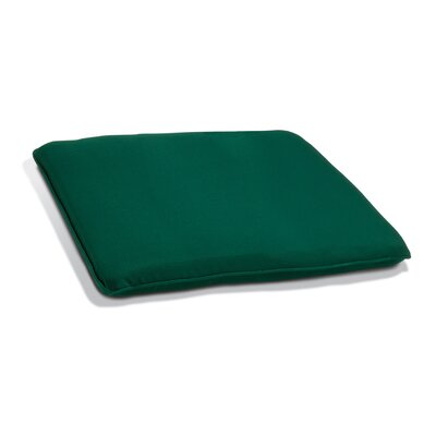 Outdoor Bench Cushion Size: 60 W, Fabric: Hunter Green