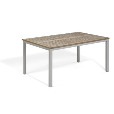 Farmington Outdoor Dining Table Finish: Tekwood Vintage